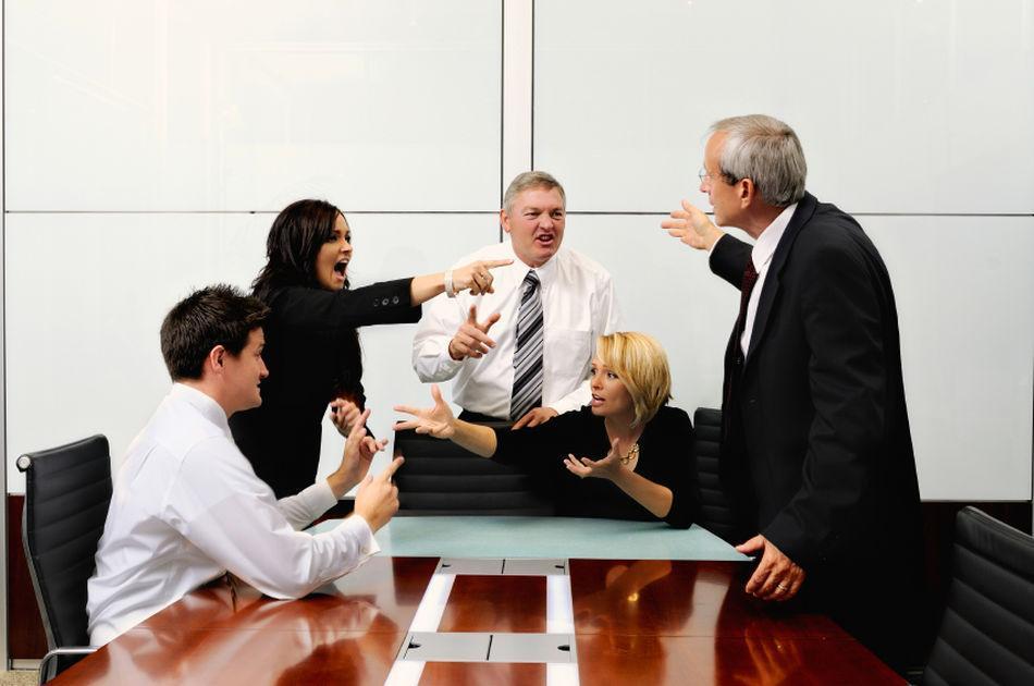Конфликты с сотрудниками