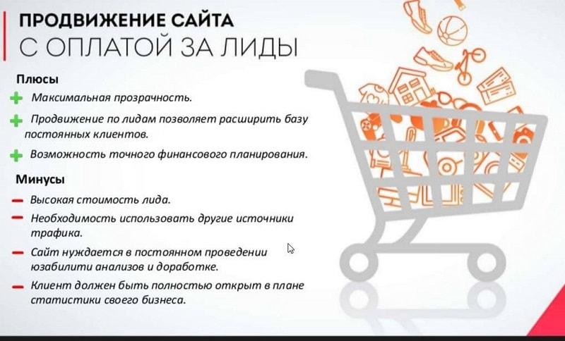 Плюсы продвижения сайта полный договор на создание сайта